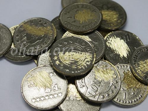 真鍮コイン(メダル)買取 スクラップ